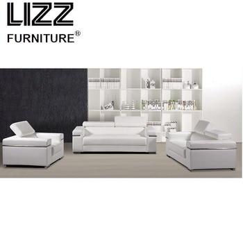 White Loveseat Modern Home Furniture 1+2+3 Leather Sofa  Classical Royal Chinese Modern Living Room Furniture Sofa loveseat