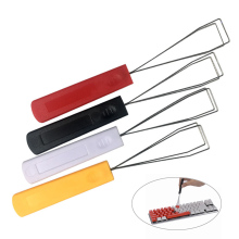 Keyboard Key wire Keycaps Puller Remover Tool Cap Plastic Handle pull easy to the keyboard key puller