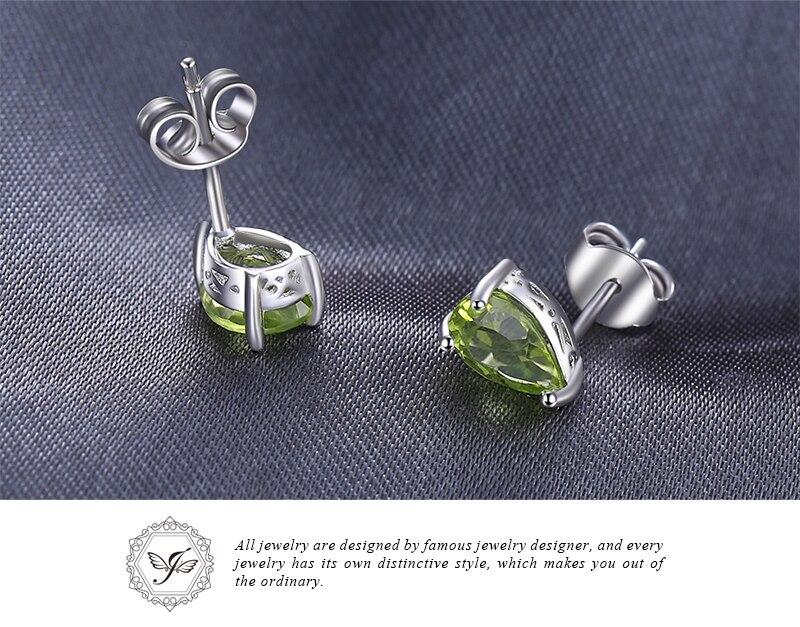 HTB1izKRJ4SYBuNjSsphq6zGvVXaO Genuine Amethyst Garnet Peridot Topaz Stud Earrings 925 Sterling Silver Earrings For Women Korean Earings Fashion Jewelry 2019