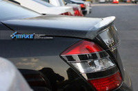 Fit para Mercedes-Benz W221 S S300L S350L S400L S500L fibra de carbono spoiler traseiro asa traseira