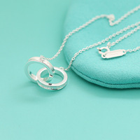 Hot Selling 100 925 Sterling Silver Link Chains Fit T Pendant Necklaces For Women Charming Charm