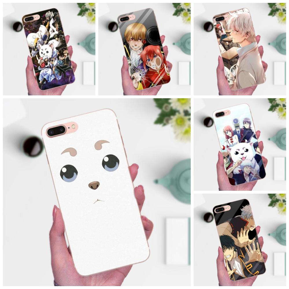 Soft Fashion Phone Case Anime Gintama Gintoki For Huawei Mate 7 8 9 10 20 P8 P9 P10 P20 P30 Lite Plus Pro 2017