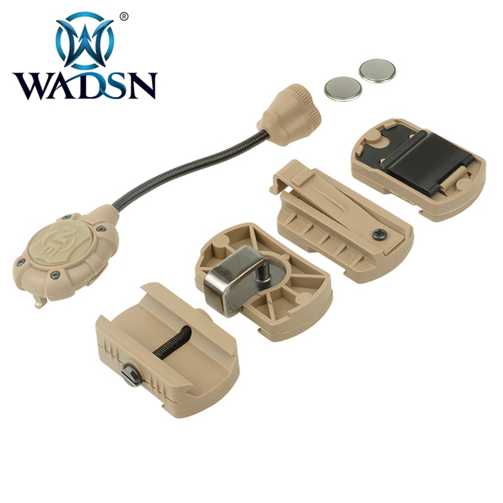 Image 5 - WADSN Princeton Tec MPLS 3 Tactical Helmet Light Military Hunting Airsoft Illumination Lighting System WNE05015 Weapon Lights-in Weapon Lights from Sports & Entertainment