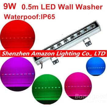 Outdoor lamp schijnwerper IP65 LED wall washer lamp 9 watt 24 V 110 V 220 V 240 V wit rood geel blauw groen rgb muur washer