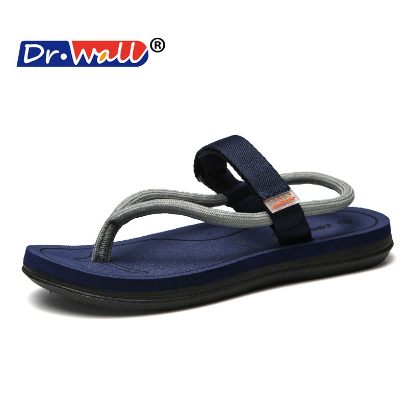 Beach Shoes For Male Household Slippers Men Summer Indoor Braided - Men's Shoes