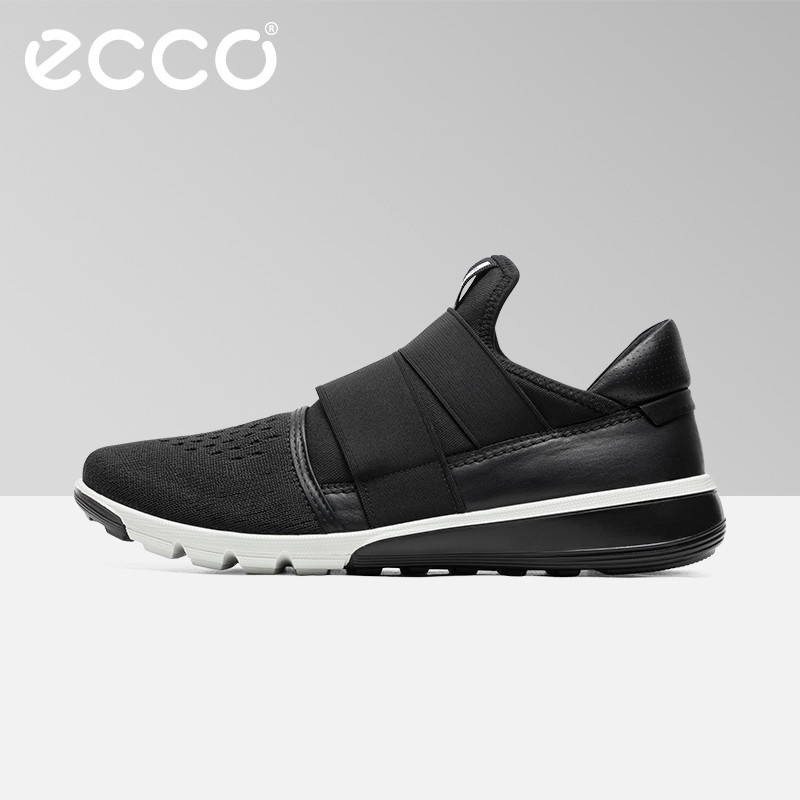 ECCO Intrinsic 2 Fashion Knit Air Mesh Leather Men Casual Sneakers Shoes Spring Summer Outdoor Light Breathable Sneaker Shoes недорго, оригинальная цена