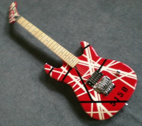 d247950813e Kramer Evh eddie VAN HALEN 5150 sttoster Black   red white Frankenstrat  frankenstein stat Electric Guitar Deposit!