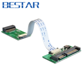 все цены на For Apple MacBook Air mc505 mc506 SSD to SATA 22 Pin Adapter Card Cards with LIF Cable онлайн