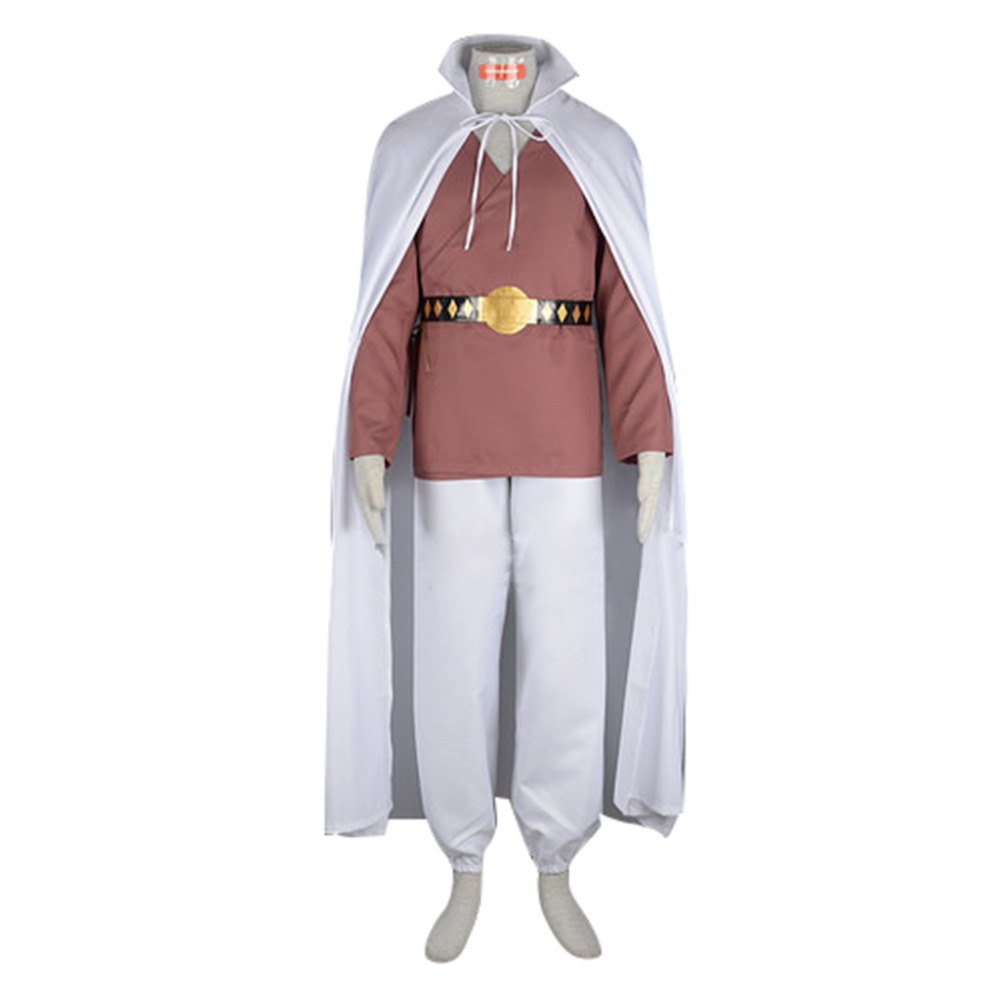 Dragon Ball Mr Satan Cosplay Costume Men's Halloween Carnival Party Movie TV Costume Outfit
