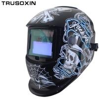 New Solar LI Battery Automatic Darkening TIG MIG MMA MAG KR KC Electric Welding Mask Helmets