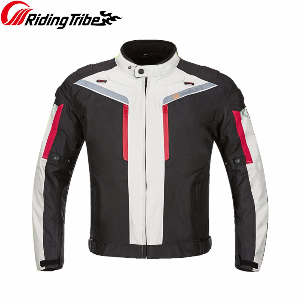 Motorcycle protective gear Summer Jacket Waterproof Reflective Motocross Professional Moto Racing jackets Clothing JK 40