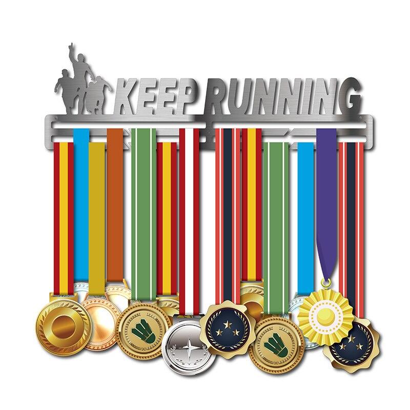 DDJOPH cintre de médaille de course cintre de médaille de sport pour le cintre d'affichage de médaille de course pour le marathon, demi-marathon