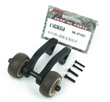 Free Shipping VKAR BISON Racing Rise head wheel Stand up wheel Rear Anti-roll wheels kit for RC Monster truck ET1047