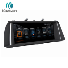 цена Koason Android 8.1 System Car GPS Navigation For BMW 5 Series F10 F11 2010-2012 CIC BT WIFI Stereo 6-Core CPU Multimedia Player