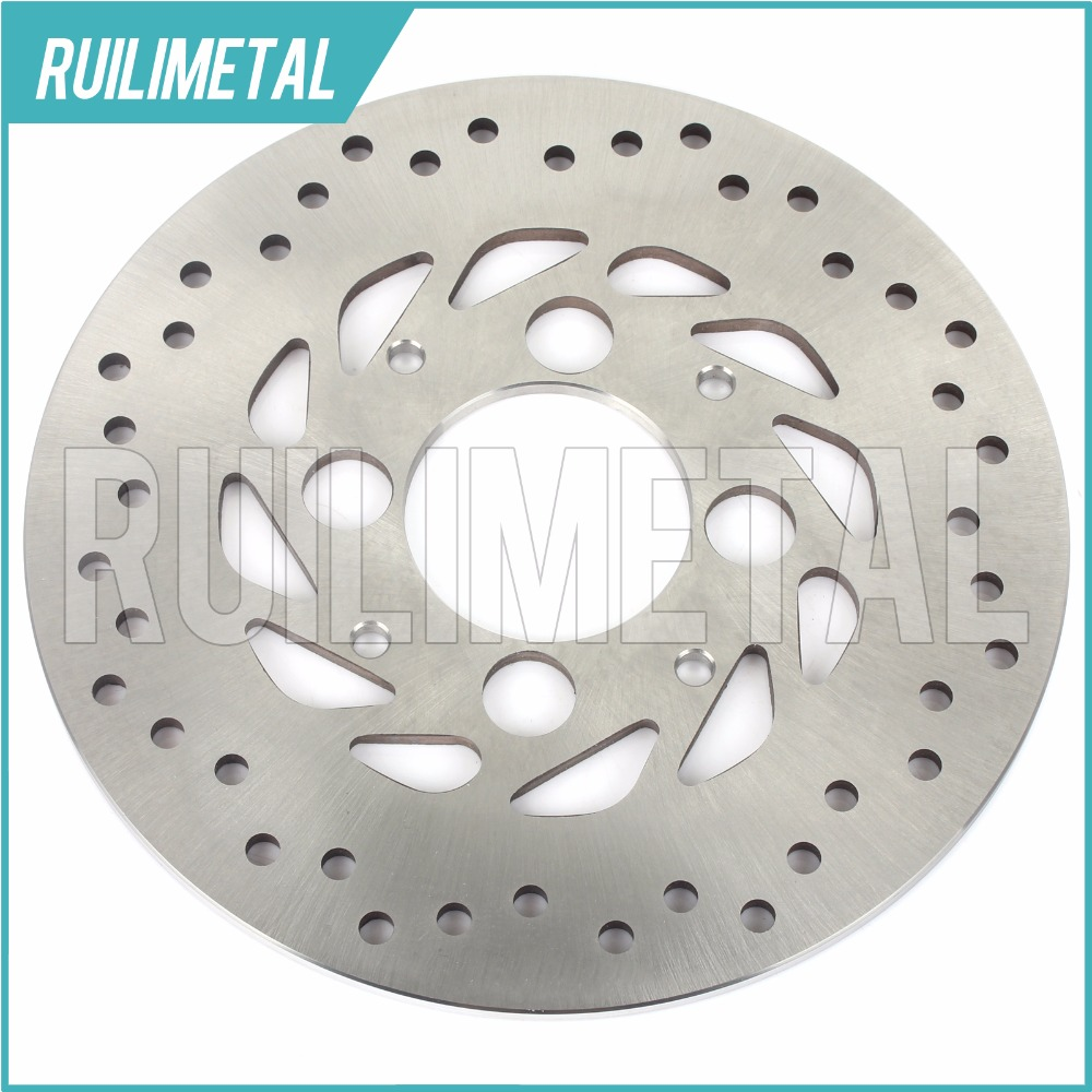Rear Brake Disc Rotor for HONDA VFR 800 Fi Intefceptor ABS FAE RC F X Crossrunner Touring  RC46 02 03 04 05 06 07 08 09 rear brake disc rotor for yamaha fz1 non abs 06 09 fz6 naked non abs 04 07 fz6 ns naked 05 06 motorcycle