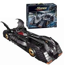Decool 7116 Super Heroes Batman The Batmobile building Blocks Bricks Toys Set Boy Game Compatible with Lepin Bela 7784