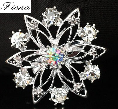 Hot Sale Fashion&Casual Small 3*3cm Rhinestone Brooches ...
