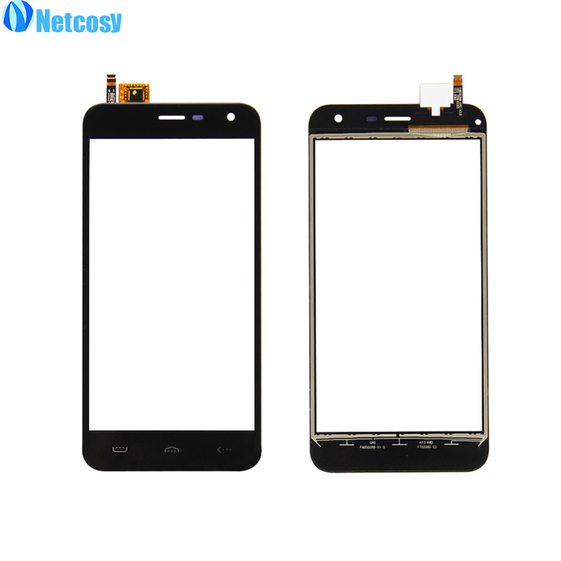 Netcosy For Homtom HT3 HT 3 Black Touch screen digitizer panel replacement parts For Homtom HT3 HT 3 touchscreen