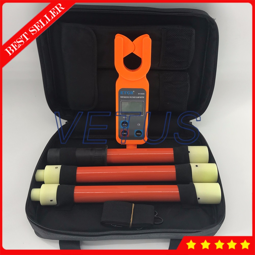 ETCR9100S 0.00mA 600A Портативный высокая/низкая Напряжение AC Ток утечки клещи измерения с 99 группы Регистратор данных
