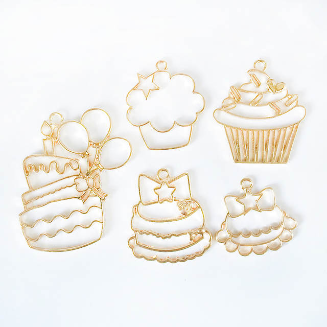 Excellent Online Shop Tjp 5 Pcs Lot Birthday Cake Doughnut Metal Frame Personalised Birthday Cards Veneteletsinfo