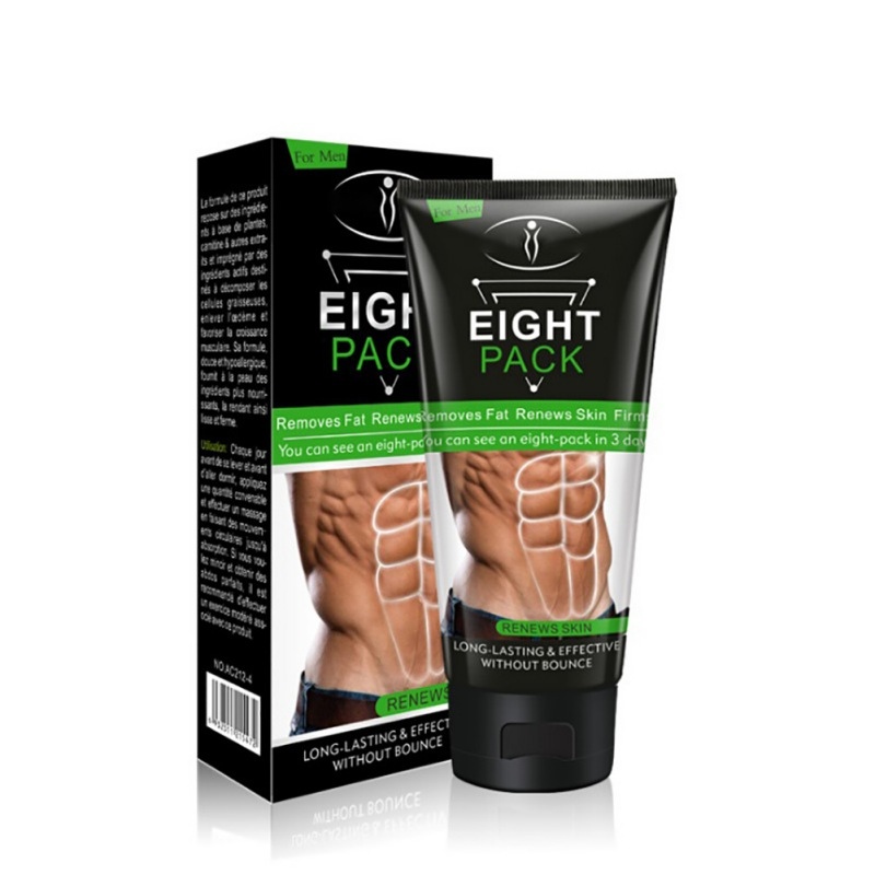 Powerful Stronger Body Cream Muscle Men Strong Anti Cellulite Burning Cream Slimming Gel For Abdominals Muscle 170g