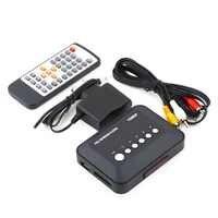 1Sets 1080P TV Videos SD MMC RMVB MP3 HD USB HDMI Multi TV Media Videos Player Box New High Quality