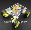 4WD Smart car hanging car chassis suspension/WIFI robot car suspension investigation WIFI car