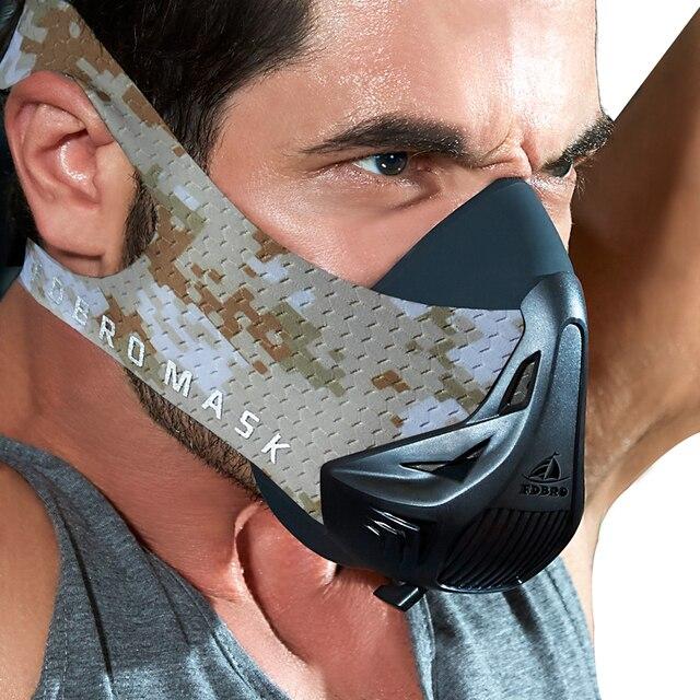 FDBRO спортивные маски Лидер продаж для мужчин женщин Phantom хорошее качество Training Спорт Фитнес Mask2.0 хорошее качество EVA посылка с BoxFree