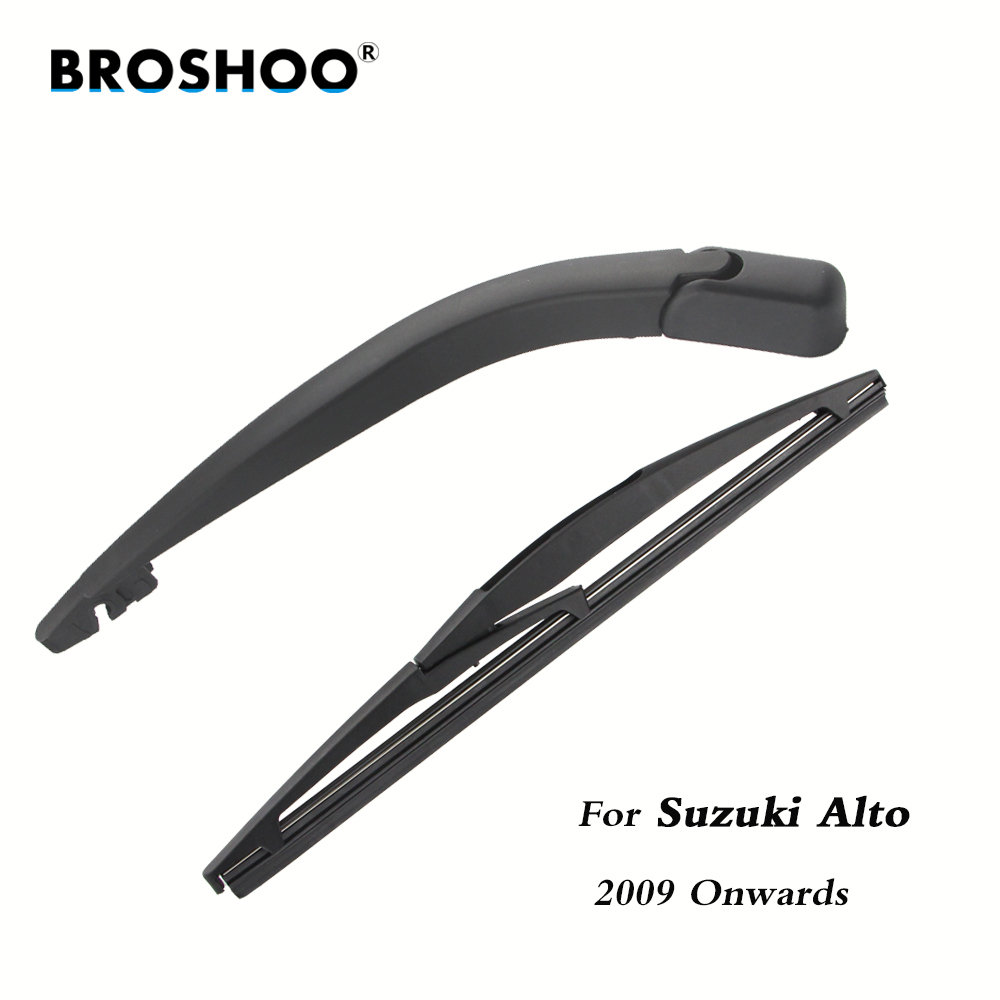 BROSHOO Car Rear Wiper Blades Back Windscreen Wiper Arm For Suzuki Alto Hatchback (2009 Onwards) 255mm,Windshield Car Styling цена 2017