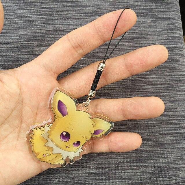 Аниме акриловый кулон и брелок Pokemon Go Джолтеон 3