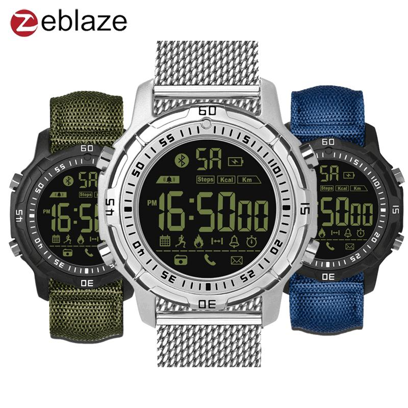 Zeblaze VIBE 2 5ATM Fitness Tracker Waterproof 540 Days Stand-by Pedometer Sports Smart Watch for iOS Android Smart Watch