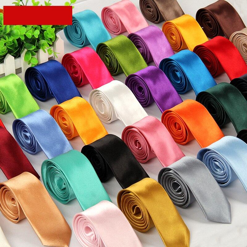 Modestil 35 Solide Farben Vielzahl Gravata Stilvolle Kleid Up Tie Für Männer Hand Made Corbatas Para Hombre