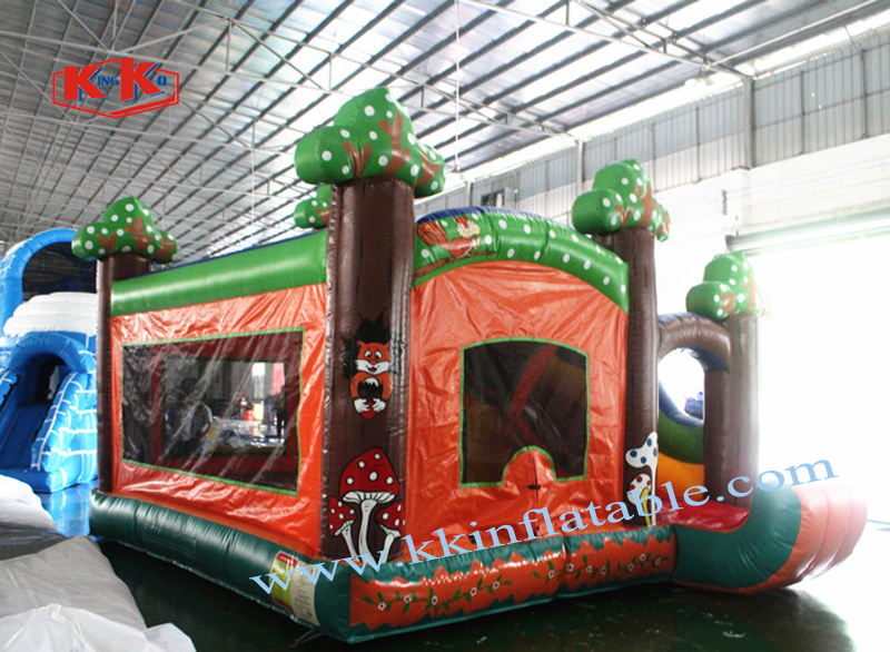 Slide Castle Combination Customized Mini Playground Children's Amusement Park Strength Manufacturers Professional Gas Model