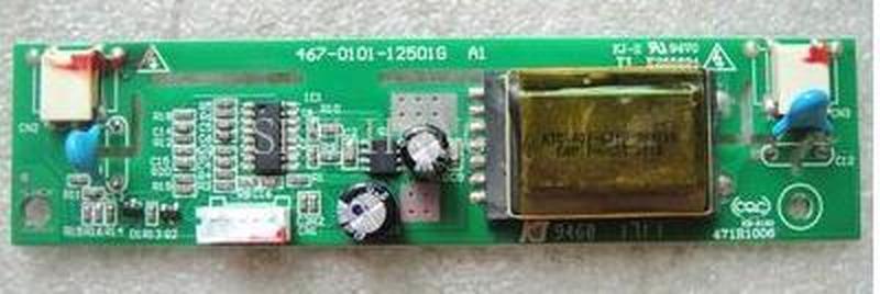 Free Shipping  LCD Inverter 467-0101-12501G KB-6160 High Voltage Strip