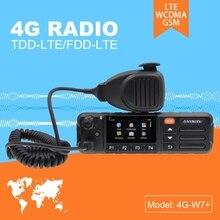 ZELLO ECHT PTT Android Walkie Talkie LTE BAND 4G Mobile Radio 4G W7 Plus PTT Net Arbeit Radio EU Version