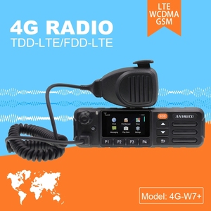 Image 1 - ZELLO リアル PTT Android トランシーバー LTE バンド 4 グラム携帯ラジオ 4G W7 プラス PTT 正味の仕事ラジオ EU バージョン
