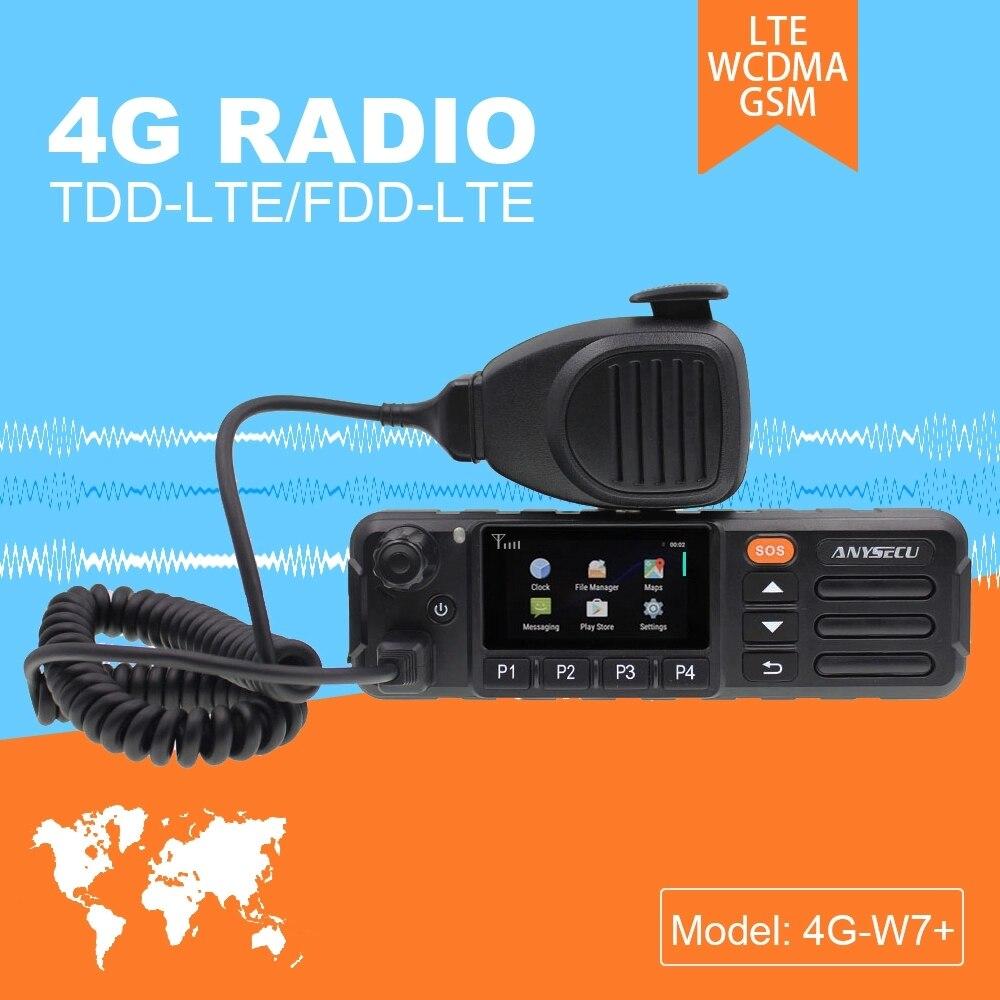 ZELLO réel PTT Android talkie walkie LTE bande 4G Radio Mobile 4G W7 Plus PTT Net travail Radio Version EU-in Talkie Walkie from Téléphones portables et télécommunications on AliExpress - 11.11_Double 11_Singles' Day 1
