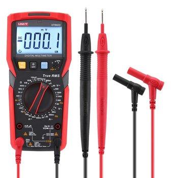 UNI-T UT89XD True RMS Digital Multimeter DC/AC Current Voltage Ammeter Voltmeter NCV/Capacitor/Triode/LED Test Tester