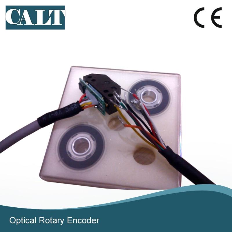 Hot sale miniature optical rotary encoder kit 6mm hole line driver output  signal module encoder PD30