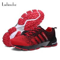 Light Sport Shoes Men Women Sneakers Breathable Flykit Sports Shoes Couples Sneakers Gym Athletic Jogging Walking