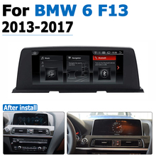 цены Android 8.0 up Car Radio DVD Navi Player For BMW 6 Series F13 2013~2017 NBT Audio Stereo HD Touch Screen all in one