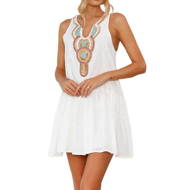 Sexy Mini Dresses Beach Wedding