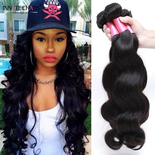 Rosa Hair Products Brazilian Body Wave Sew In Weave Bohemian Human