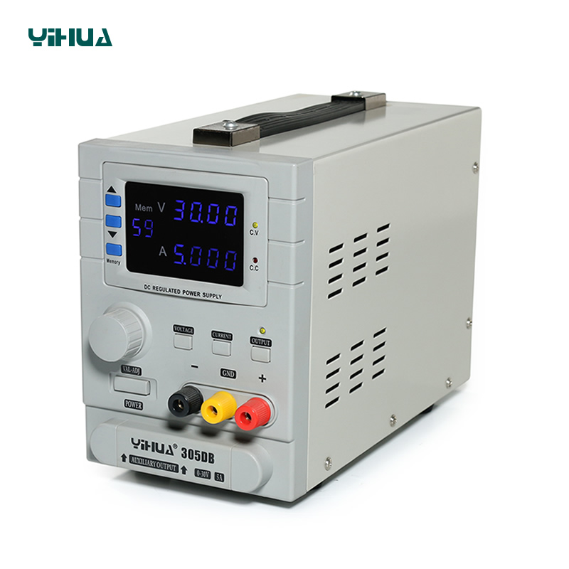 цена на YIHUA305DB Precision Adjustable 30V 5A Variable Regulated Programmable DC Power Supply