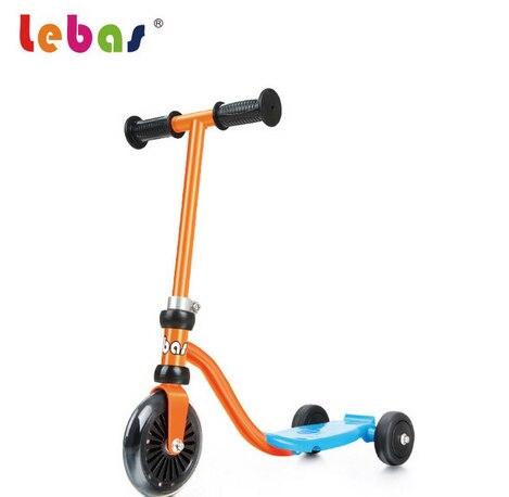 Lebas mini enfants scooter pour enfants en plein air toys trois roue kick scooter pour 1-3 ans bébé slide de bicyclette