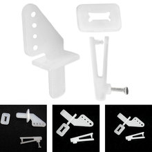 10set/lot Servo accessories Aircraft Accessories Four-hole rudder angle KT machine foam