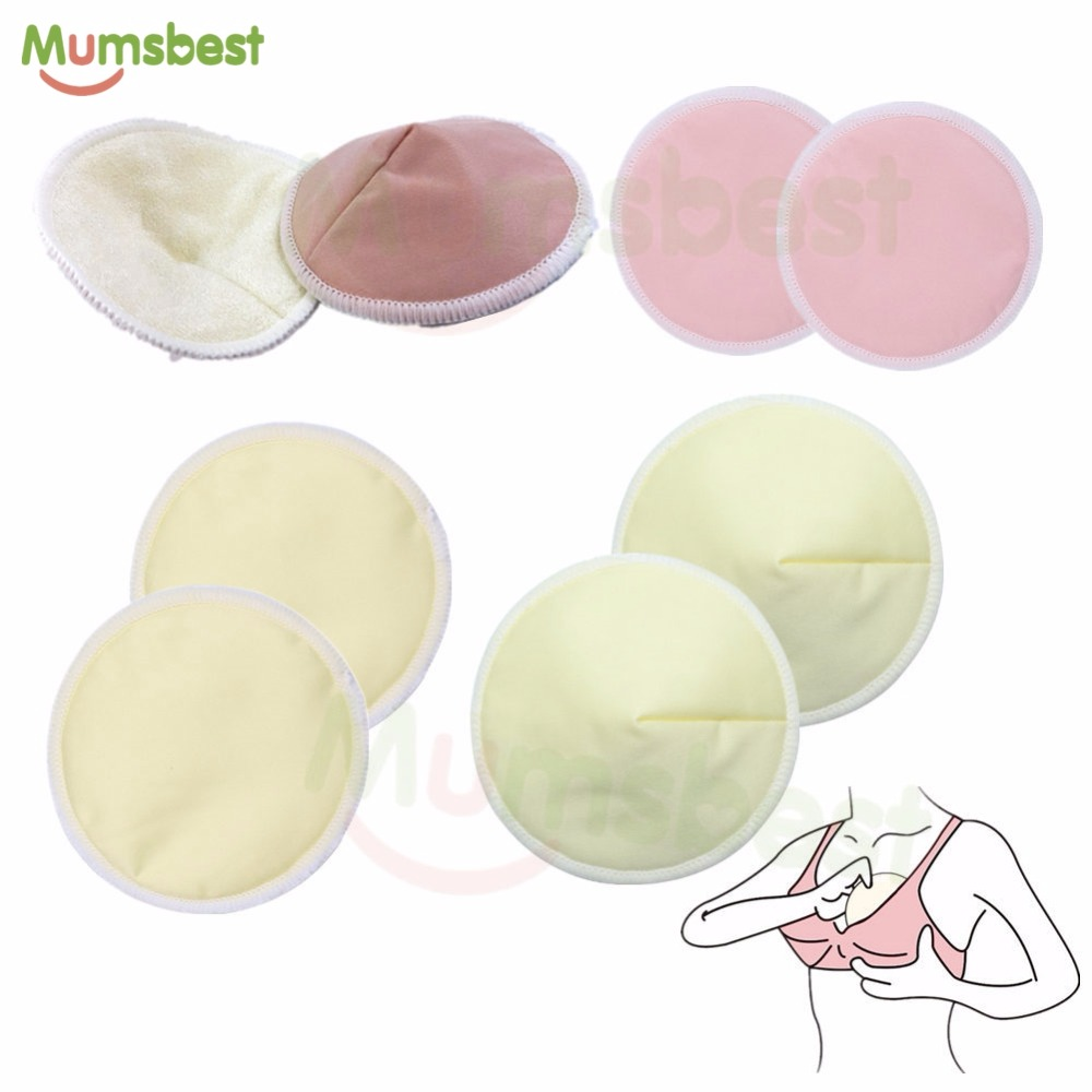 [Mumsbest] 14PCS Washable Breast Pad Nursing Pads For Mum Reusable Wholesale Factory Waterproof Pregnant 12cm Nursing Pad