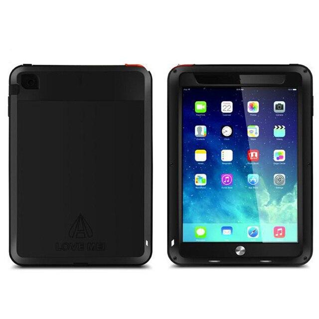 Подлинная Оригинальный Любовь Мэи Экстрим Мощный Жизнь Водонепроницаемый Металлический case для Ipad mini 1 2 3 + Gorilla Glass