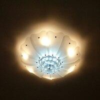 32 поверхность стекла подсолнечника потолочный светильник для Кофейня Ресторан бутики Арт Деко ОСВЕЩЕНИЕ современные большие стеклянные п