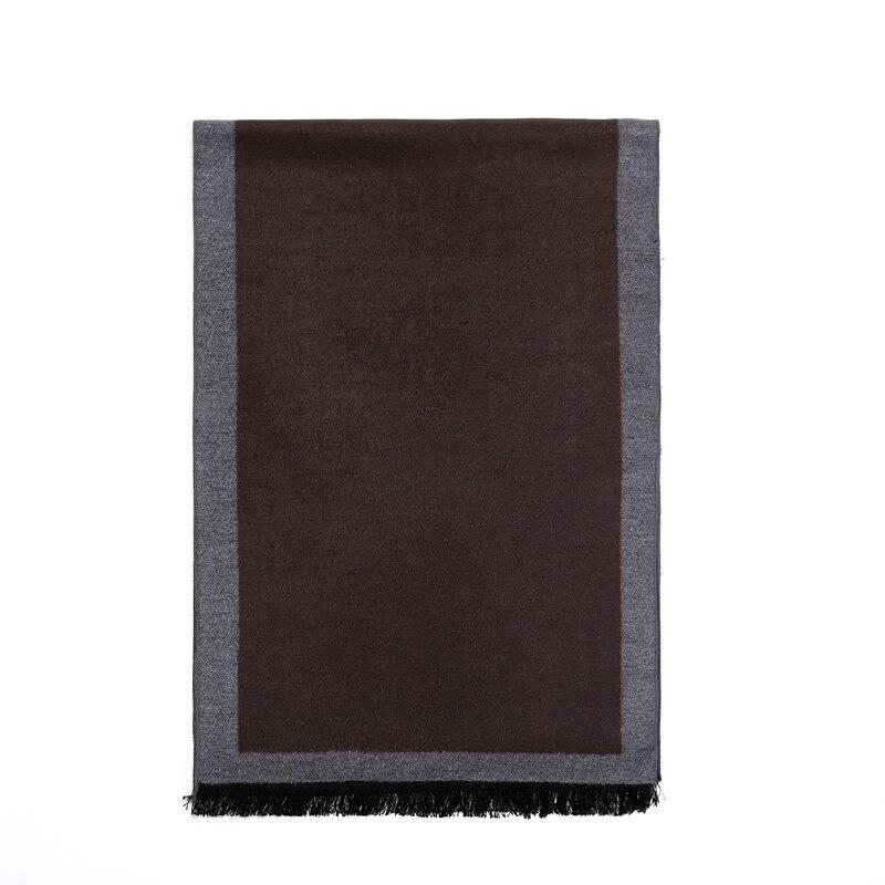 Hohe Qualität 100% Seide Gebürstet Schals Für Männer Winter Schal Weiche Warme Wraps Geschenke 180x30 Cm Durchblutung Aktivieren Und Sehnen Und Knochen StäRken Bekleidung Zubehör